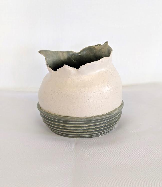 Torn Ceramic Vase