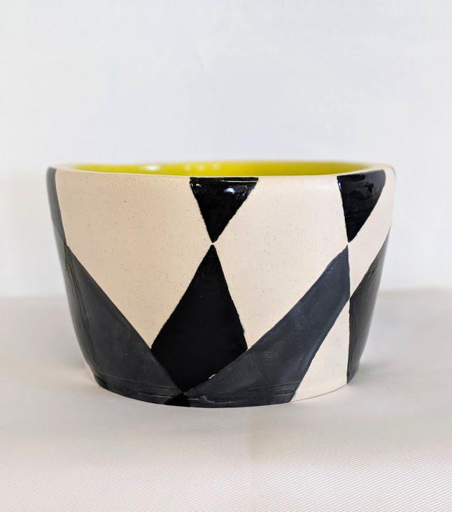 Geometric Pop Bowl